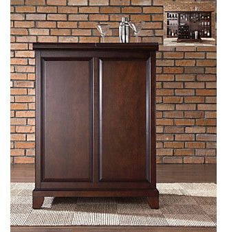 Product Crosley Furniture Newport Expandable Bar Cabinet