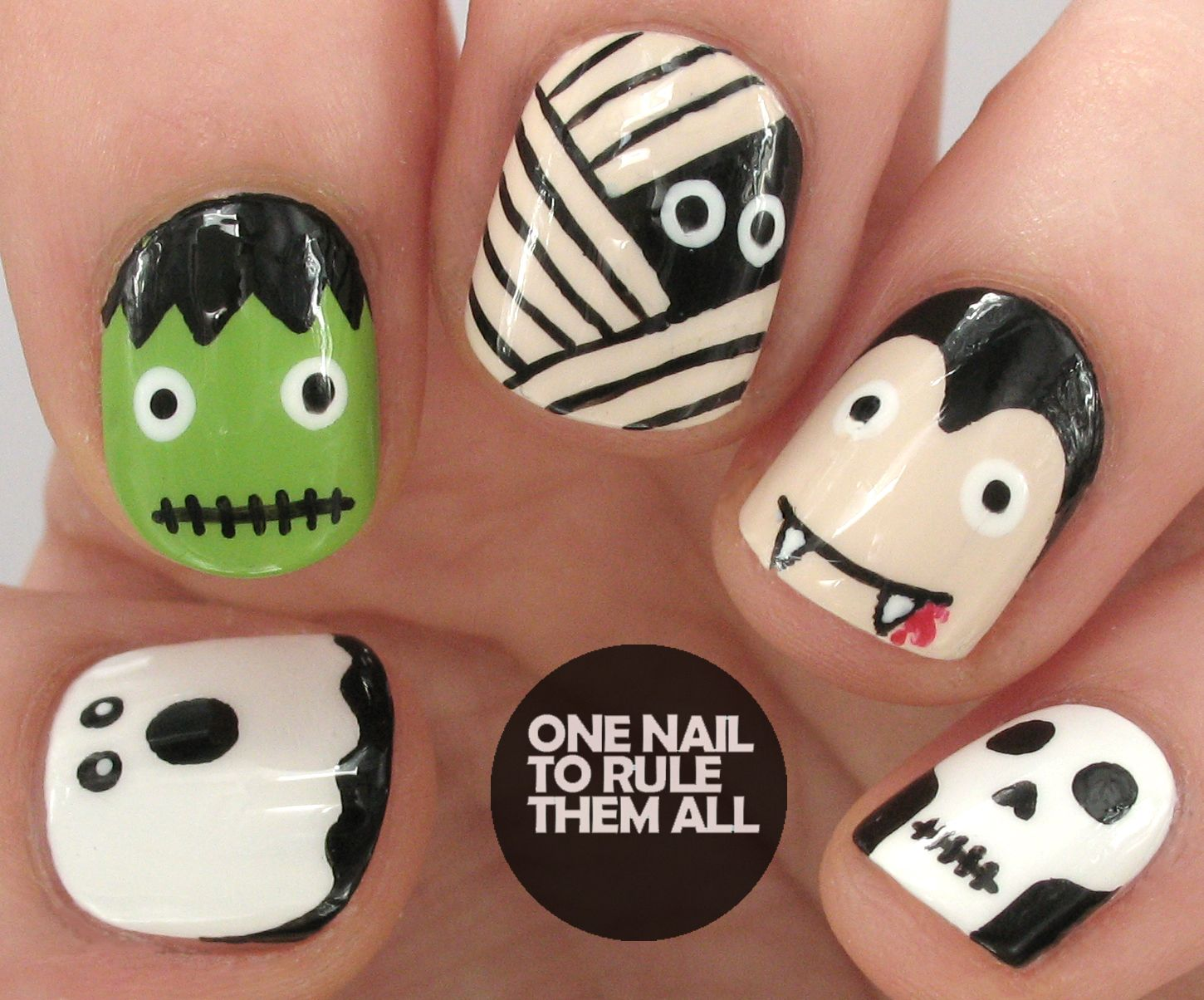 Nailvengers Assemble: Halloween Nail Art for Avon (One ...