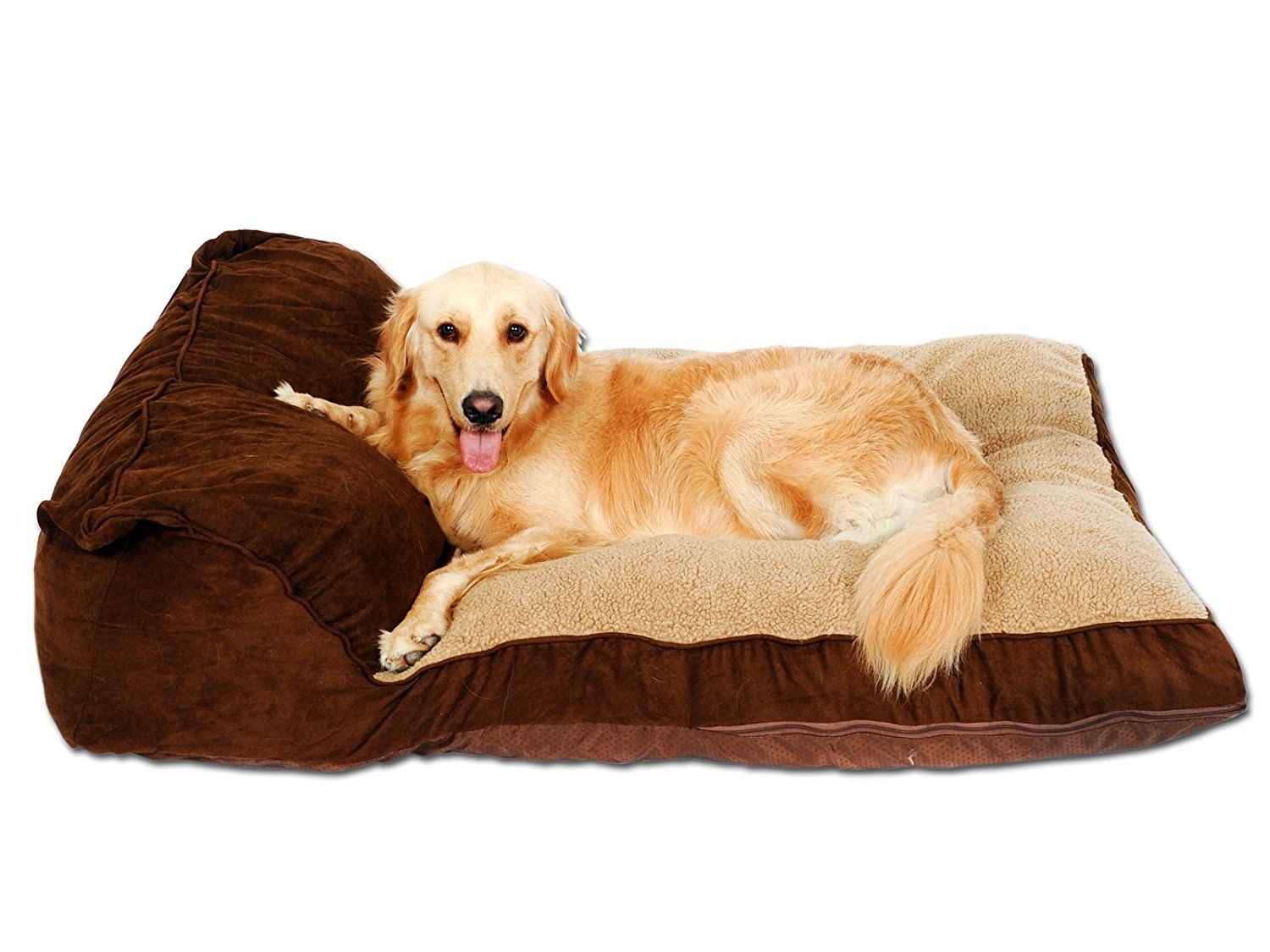 Overstock Clearance Pls Pet Siesta Deep Dish Pet Bed Brown For Large Dogs Removable Covers Easy Clean Extra Large Dog Bed Dog Bed Large Washable Dog Bed
