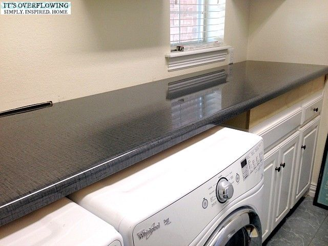 Formica Countertop Itsoverflowing 3 Laundry Room