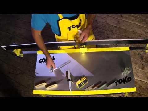 Tuning: Préparer le bord du ski de course | TOKO Wax & Care