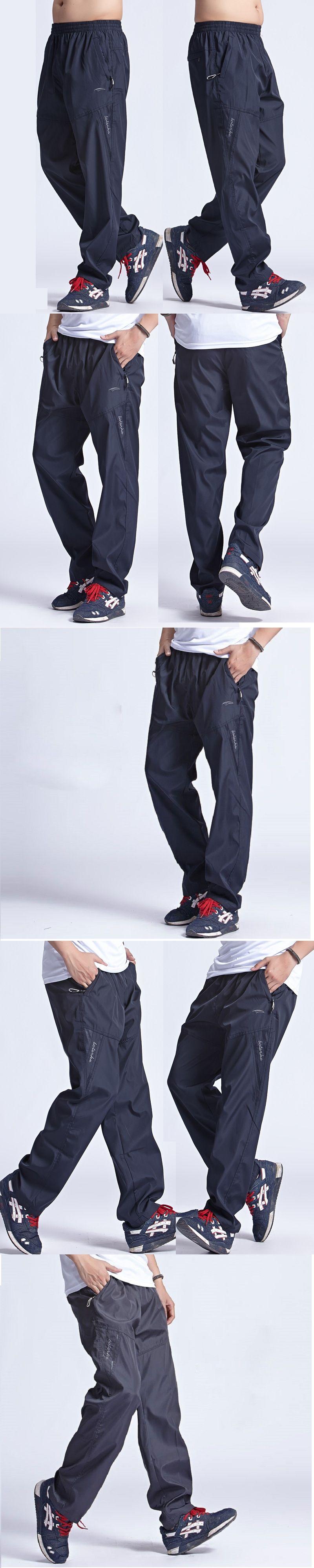 d42210d529c Grandwish 2017 New Quickly Dry Breathable Exercise Pants Men Elastic Waist  Men Active Pants Outside Trousers