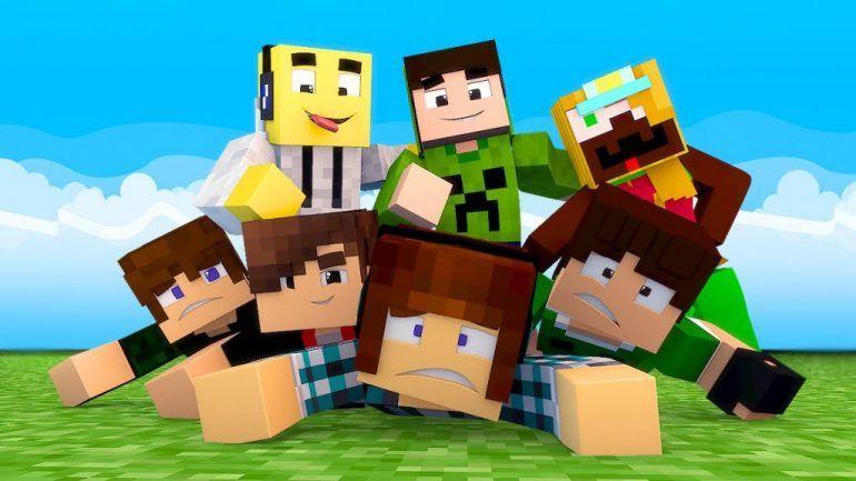 Minecraft Players Papel De Parede Minecraft Festa Infantil