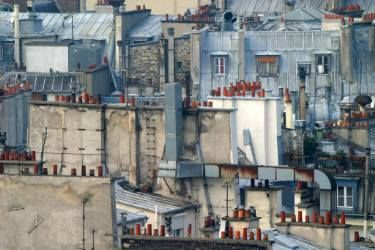 "Saatchi Art Artist gilles targat; Photography, ""roofs in Paris"" #art"