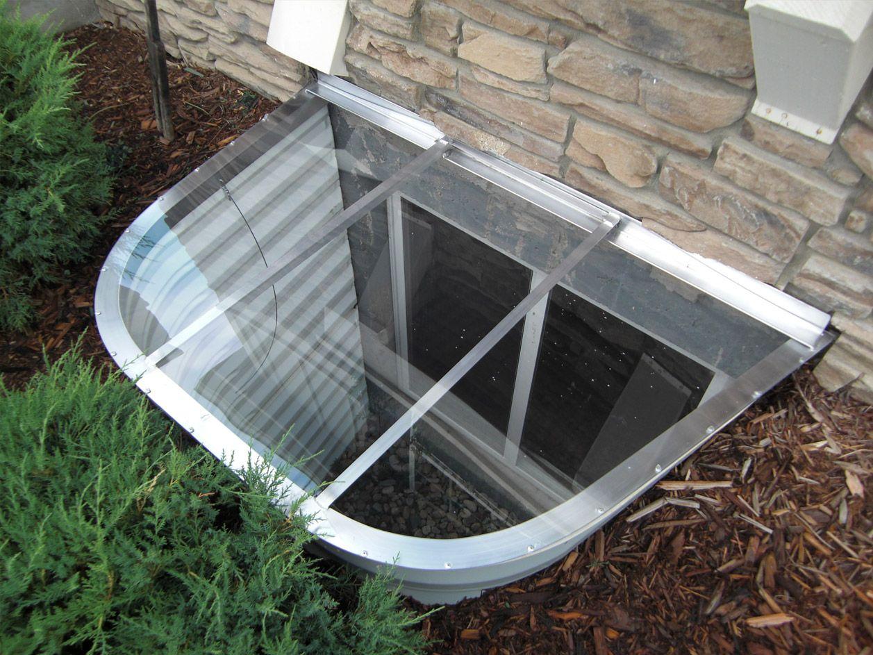 Ideas For Basement Window Covers Window Well Cover Window Well Basement Windows