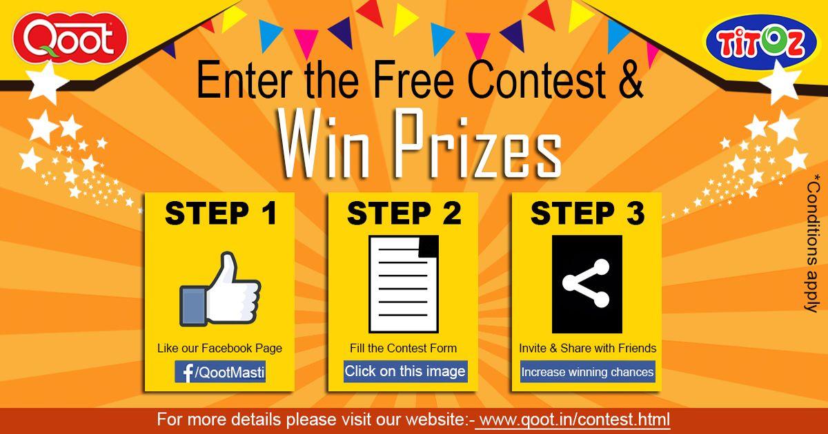 Participate In Easy Online Contest Of Qoot Masti At Qoot Masti