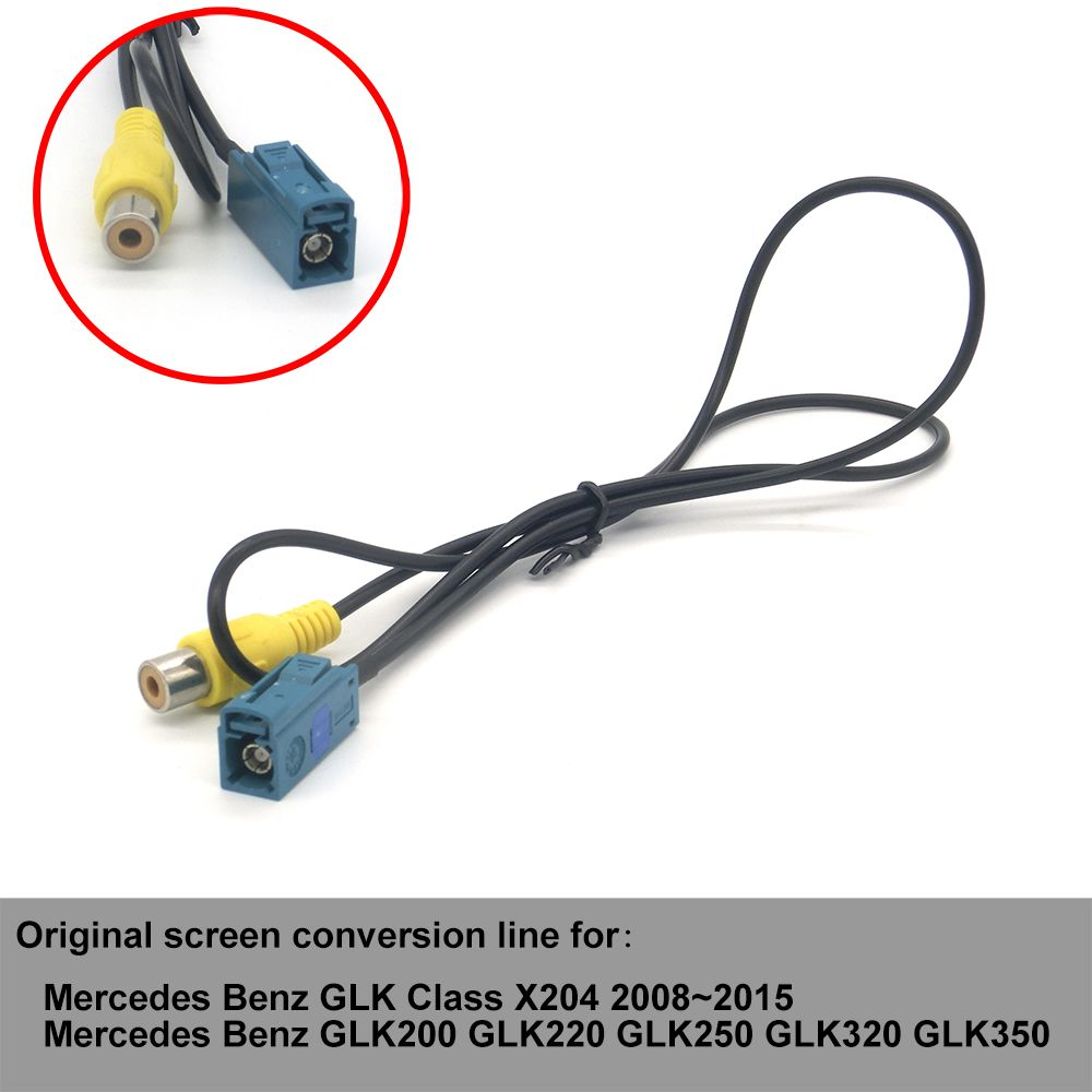 For Mercedes Benz Glk Class Conversion Line X204 2008 2009 2010 2011 E Car Stereo Radio Wiring Harness Adapter Iso Cable