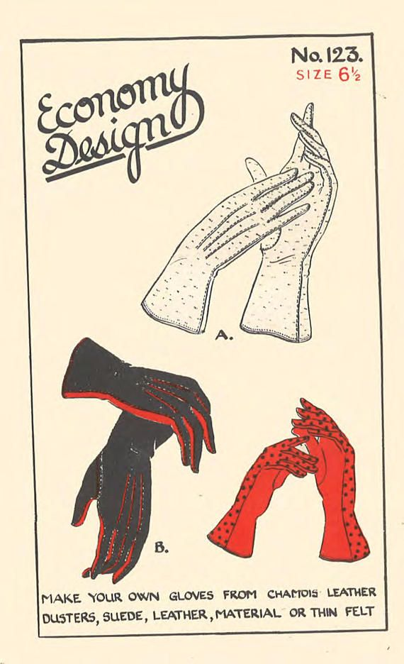 Vintage 1940\'s Sewing Pattern Economy Lady\'s Chamois leather Dusters ...
