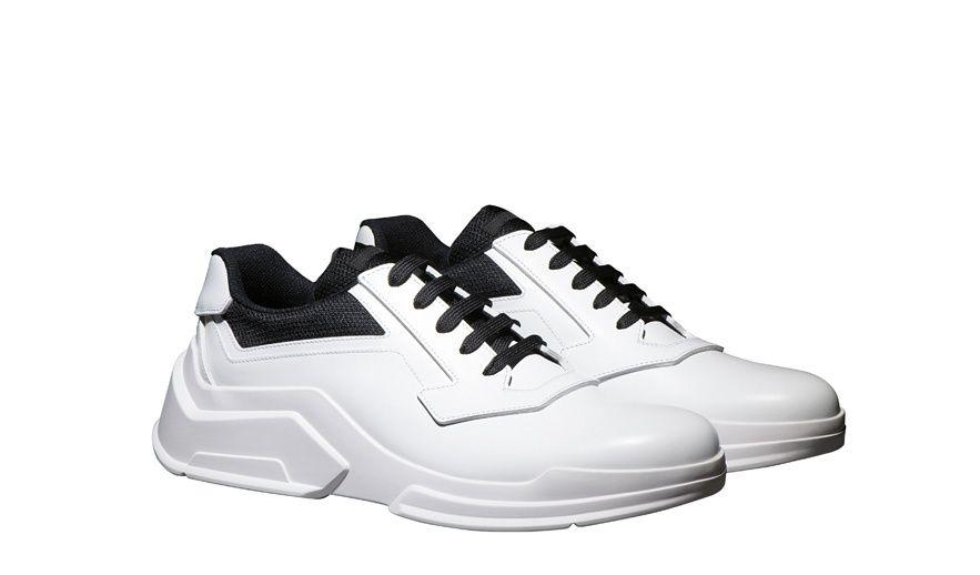 Prada\u0027s architectural sneakers