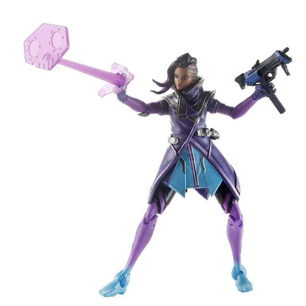 "Hasbro Overwatch Ultimates Series Sombra 6/"" Collectible Action Figure NEW"