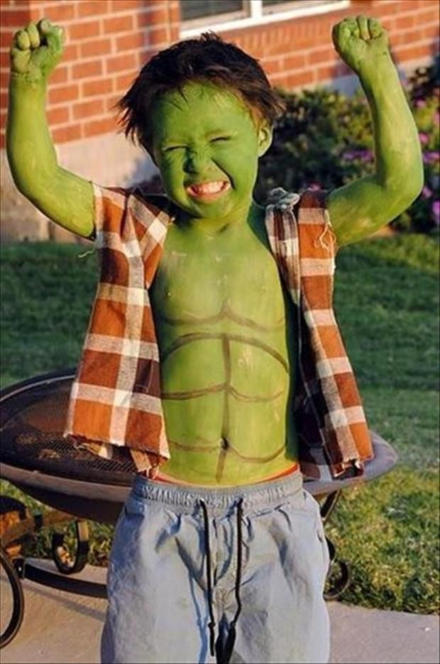 El increíble Hulk - kid halloween costumes                                                                                                                                                                                 Más