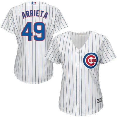 JAKE ARRIETA CHICAGO CUBS WOMENS COOL BASE REPLICA HOME JERSEY #ChicagoCubs #Cubs #CubsFans #GoCubs #Chicago
