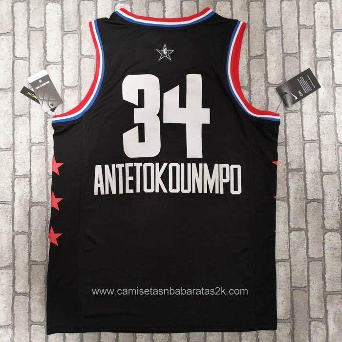 065efa7f1c 2019 的 camiseta Giannis Antetokounmpo negro #34 2019 All-Star - 2 ...