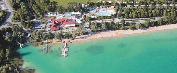 La Pergola Campsite Go Camp France Lakeside beach