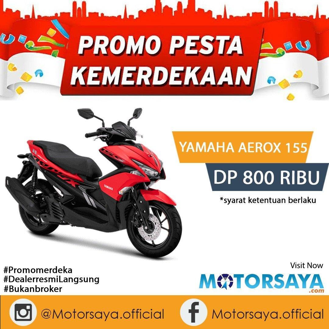 Promo Cash Kredit Yamaha Aerox 155 Vva Murah Dp Cicilan Ringan Motor Yamaha Pesta Motor