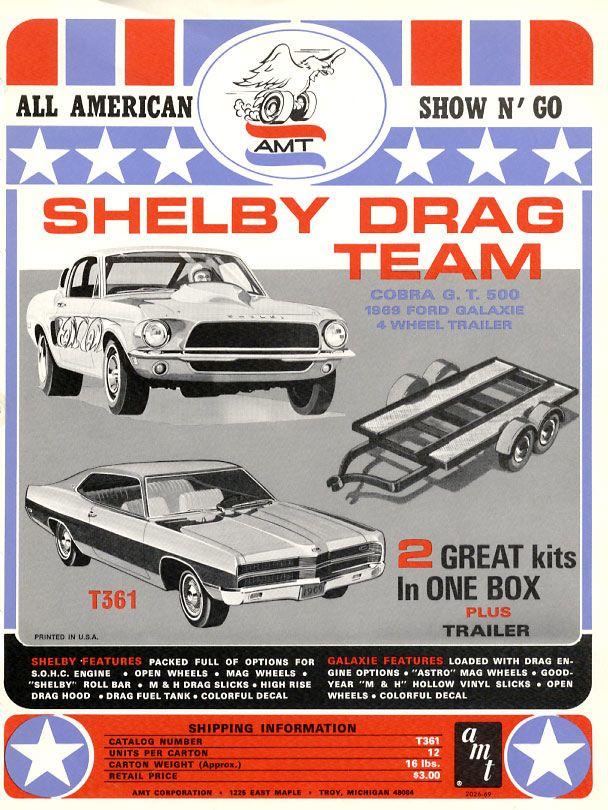 Model Car Ads Fliers Vintage Ford Model Kits Pinterest Cars