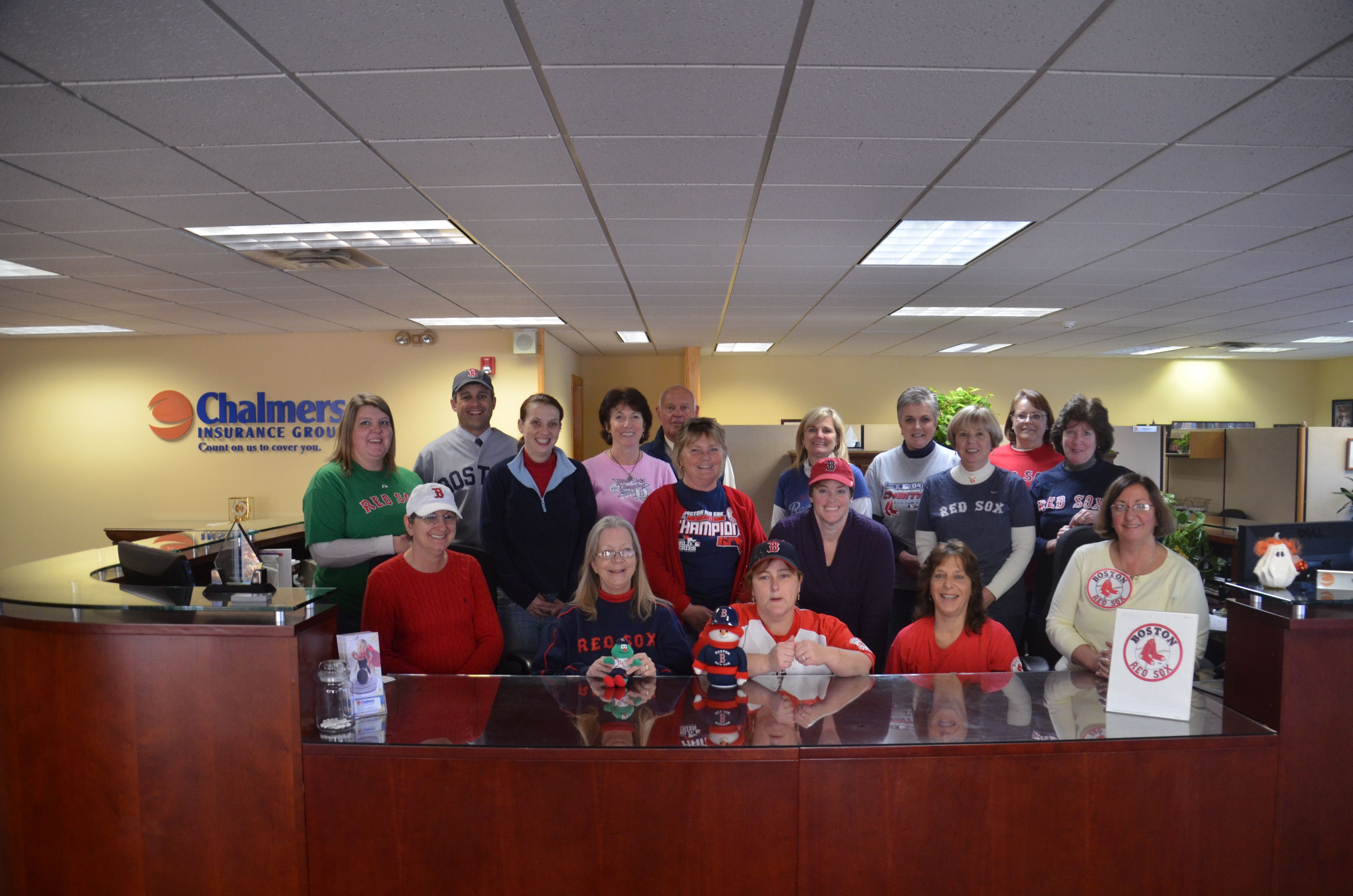 North conway insurance agents represent with world series