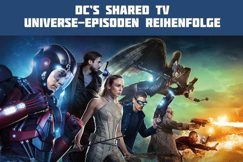 Flash Arrow Reihenfolge