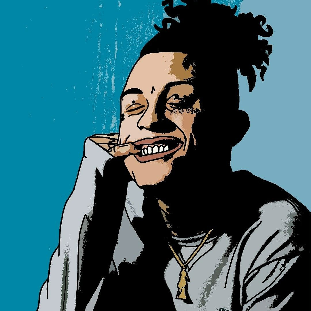 Lil Skies Lil skies, Rapper art, Cartoon art