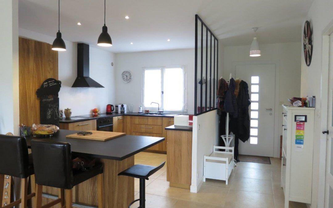 Renovation Partielle Maison Annees 80 Merignac En 2020 Mobilier Maison Cuisine Loft Maison