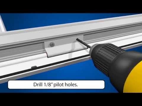 How To Install Larson Easyhang Storm Door Storm Door Installation Storm
