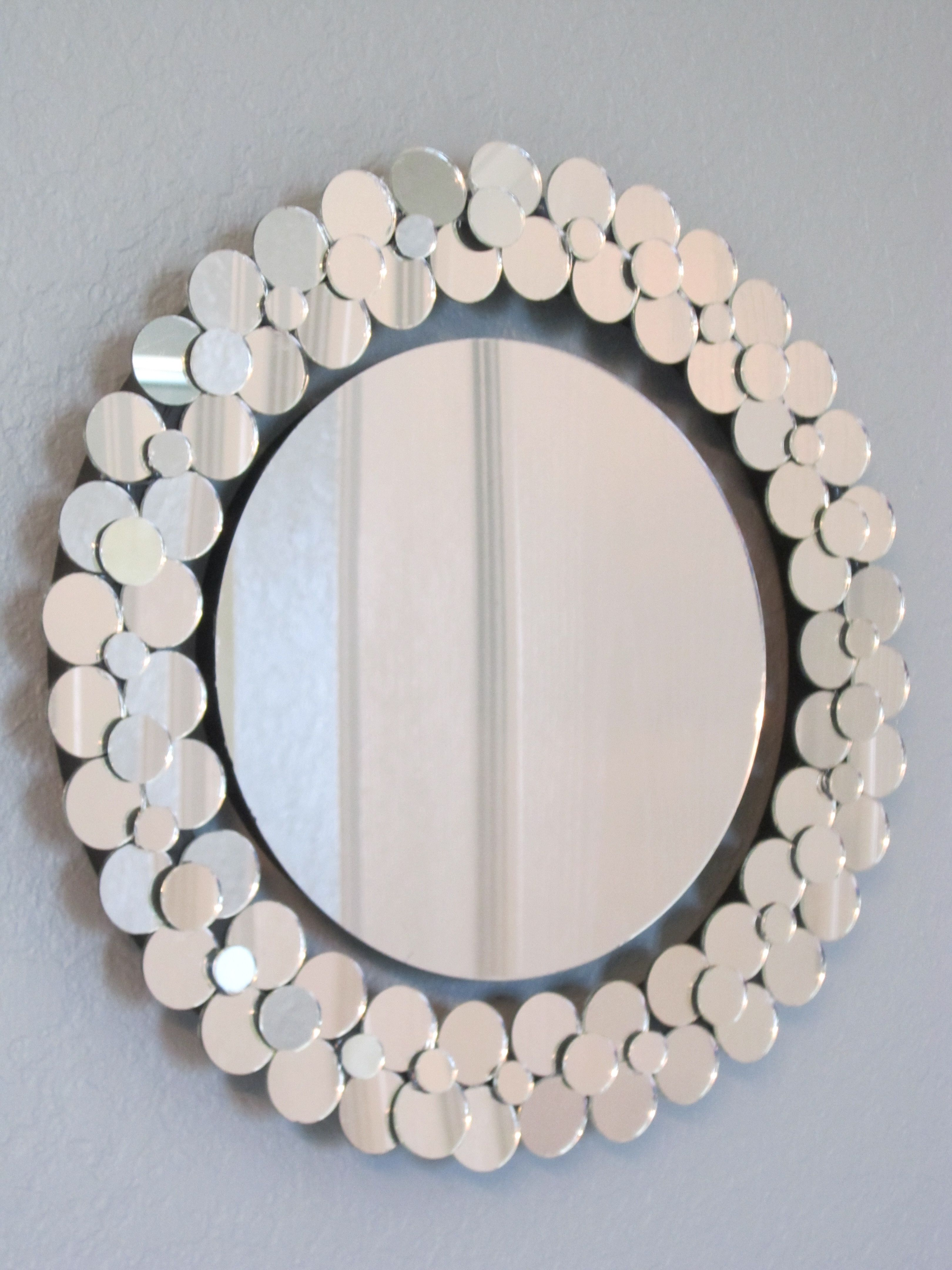 Mirror Mirror On The Wall Easy Diy Mirror Wreath With