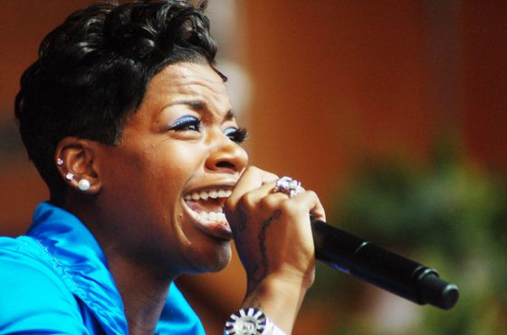 Excited too Fantasia barrino big mouth matchless message