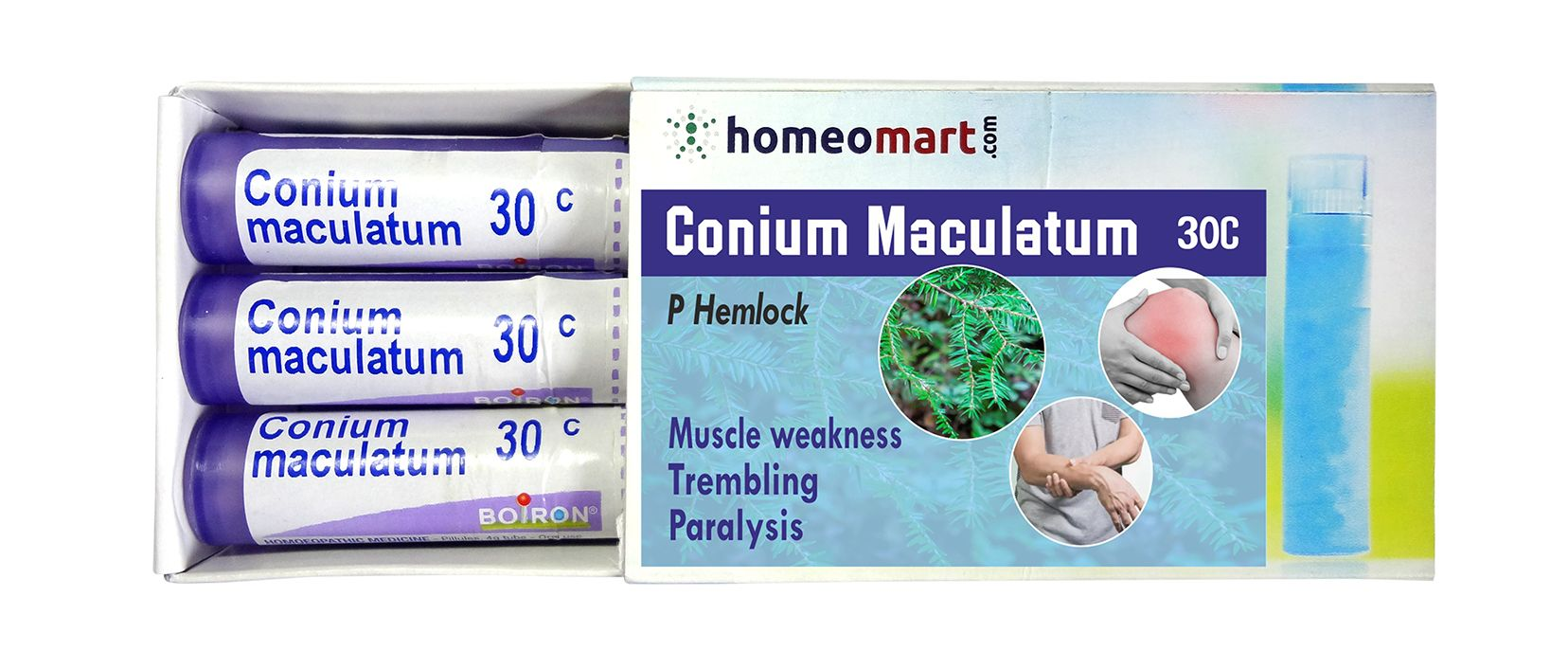 Homeopathy Conium Maculatum Remedy Kit for Trembling