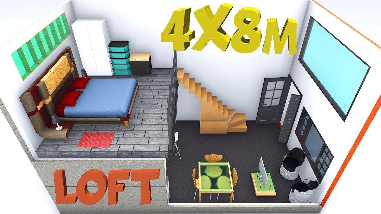 48+ Loft de 40 metros cuadrados trends