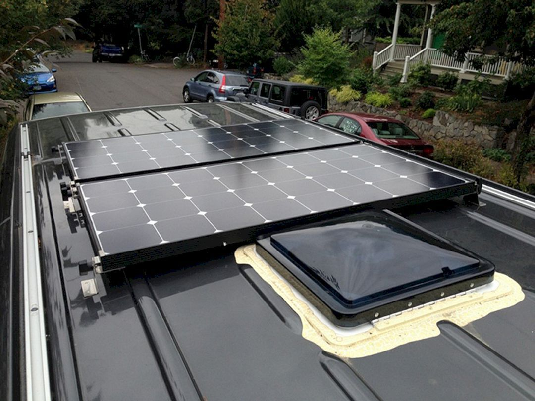 The Best 4x4 Mercedes Sprinter Hacks Remodel And Conversion 17 Ideas Camper Van Conversion Diy Solar Panels Sprinter Camper