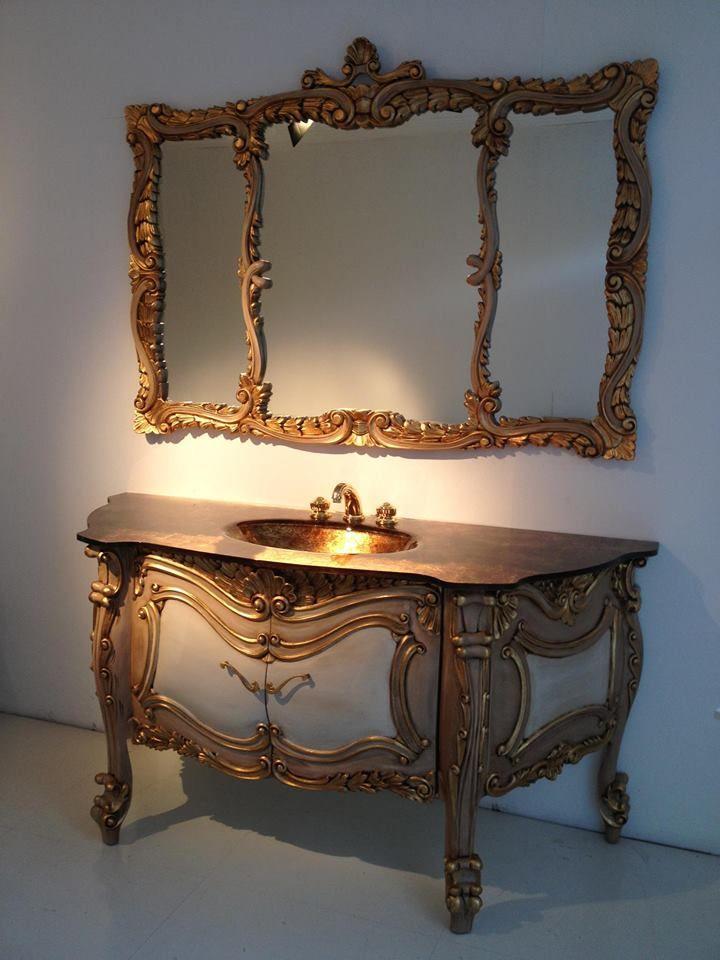 Nice Modello 01 Serie Raffaello New Collection Of Bathroom Furniture In Baroque  Style, Made
