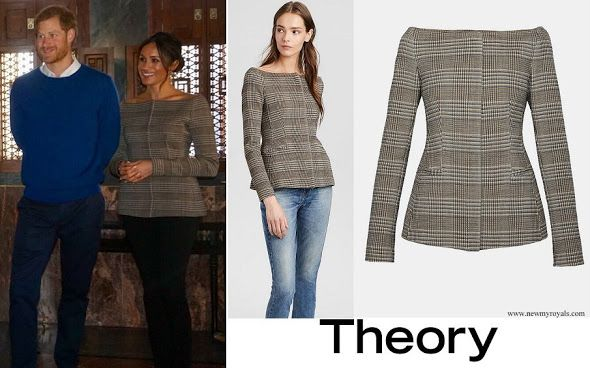 15b6a8299c ... wore Theory wool jacket. http://www.newmyroyals.com/2018/01/meghan-