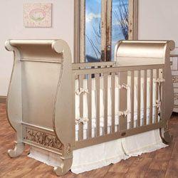 The Chelsea Sleigh Crib Is A Modern Interpretation Of A Classic