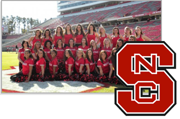 Sun Tan City is an Official Sponsor of the NC State Dance Team! #NCSTATE ncstate wolfpack