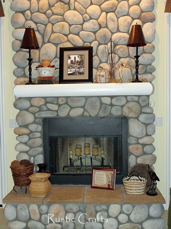 mantel decorating ideas | Decorating A Fireplace Mantel: Fall ...