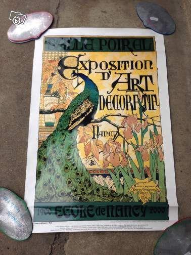 Affiche Galle Ecole De Nancy 1900 Lorraine Art Collection Meurthe Et Moselle Leboncoin Fr 35 Affiche Nancy Art