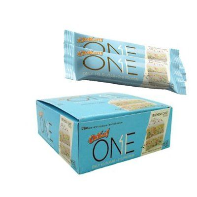 One Bar, Birthday Cake   Apparently A Good Protein Bar To Try