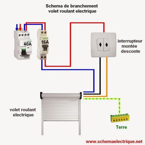 schema electrique prise commandée par interrupteur schéma