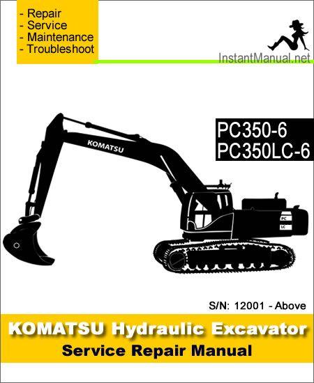 Download Komatsu Pc350