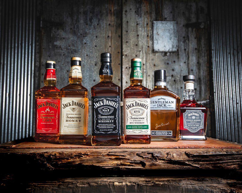 Jack Daniel S On Jack Daniels Whiskey Whisky