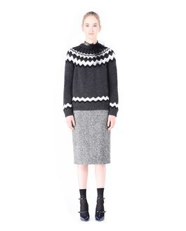 Are you looking for REDValentino Women 'Lopi' Motif Wool Sweater? Discover all the details at the official store and shop online: fast delivery and secure payments.