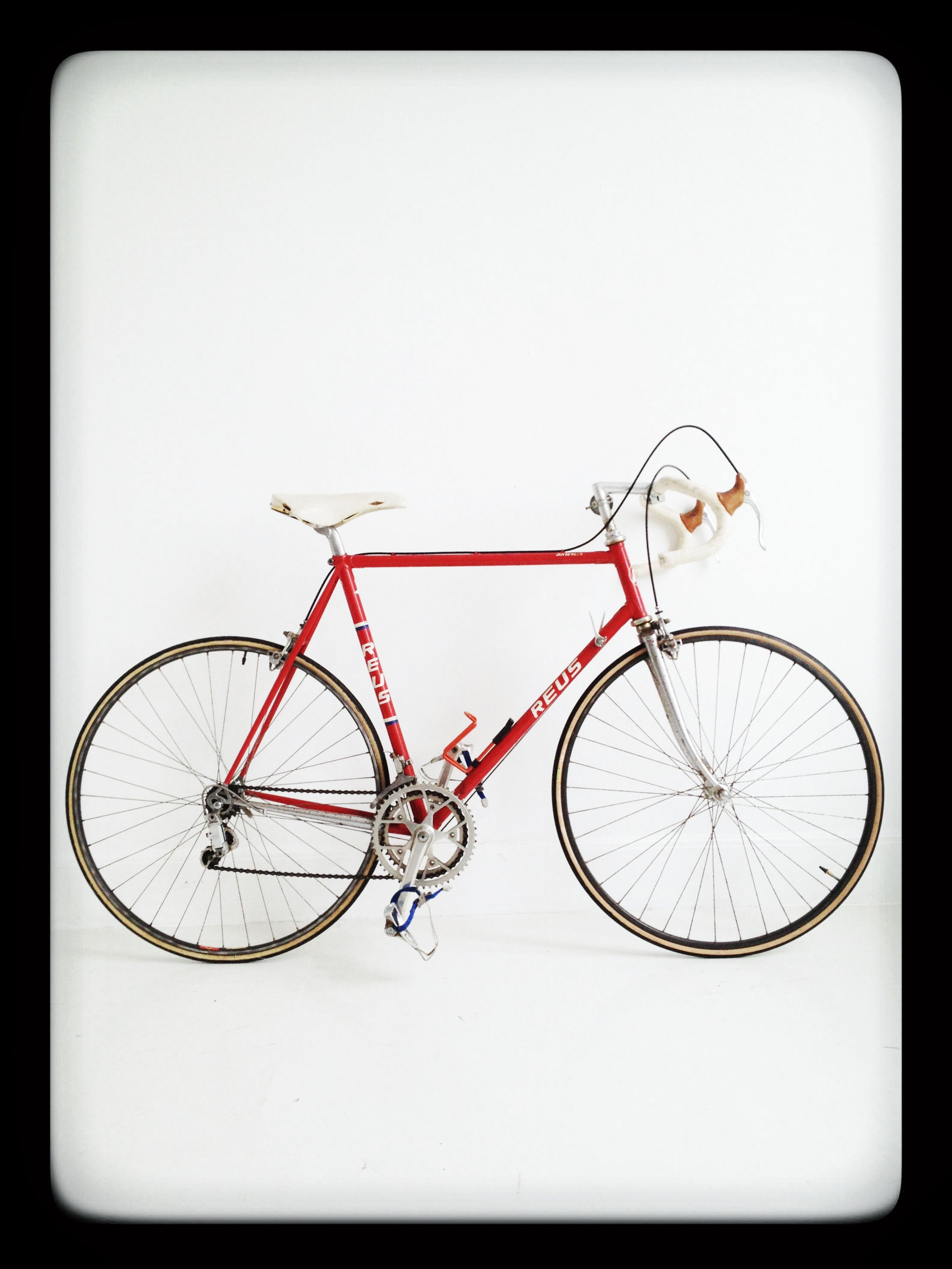 Vintage hand built racing bicycle, road bike, Jan de Reus ...