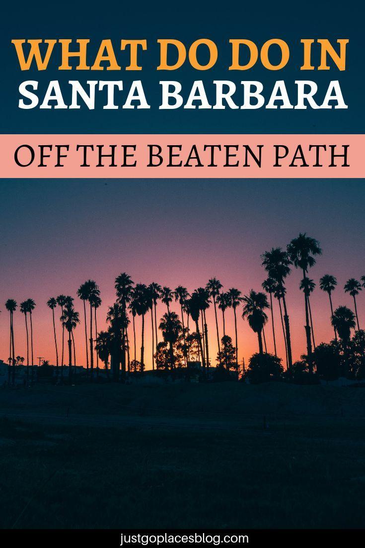 Funk Zone in Santa Barbara Parks, San diego, Rundreise