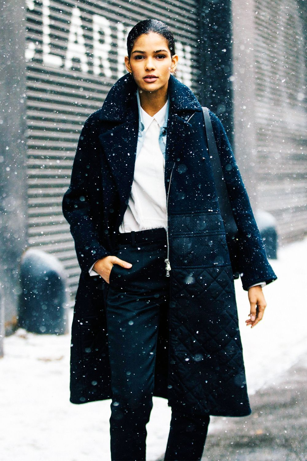 Winter Ready: What to Wear in 7-Degree Weather  Winter outfits