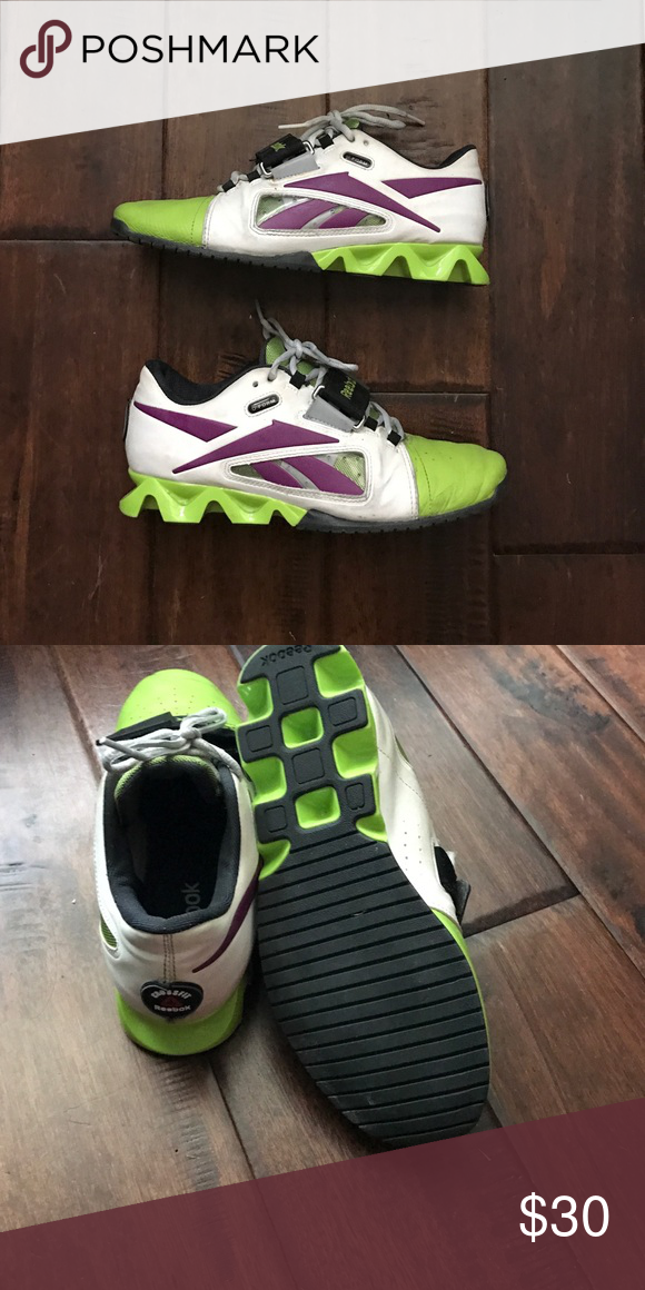 Reebok Olympic lifters Reebok Olympic lift shoes with u-form