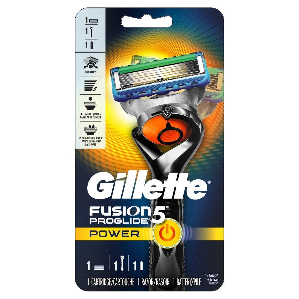Gillette Proglide Power Men S Razor 1 Razor Blade Refill Mens Razors Gillette Fusion Power Man