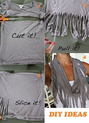 Recicle your old t-shirt