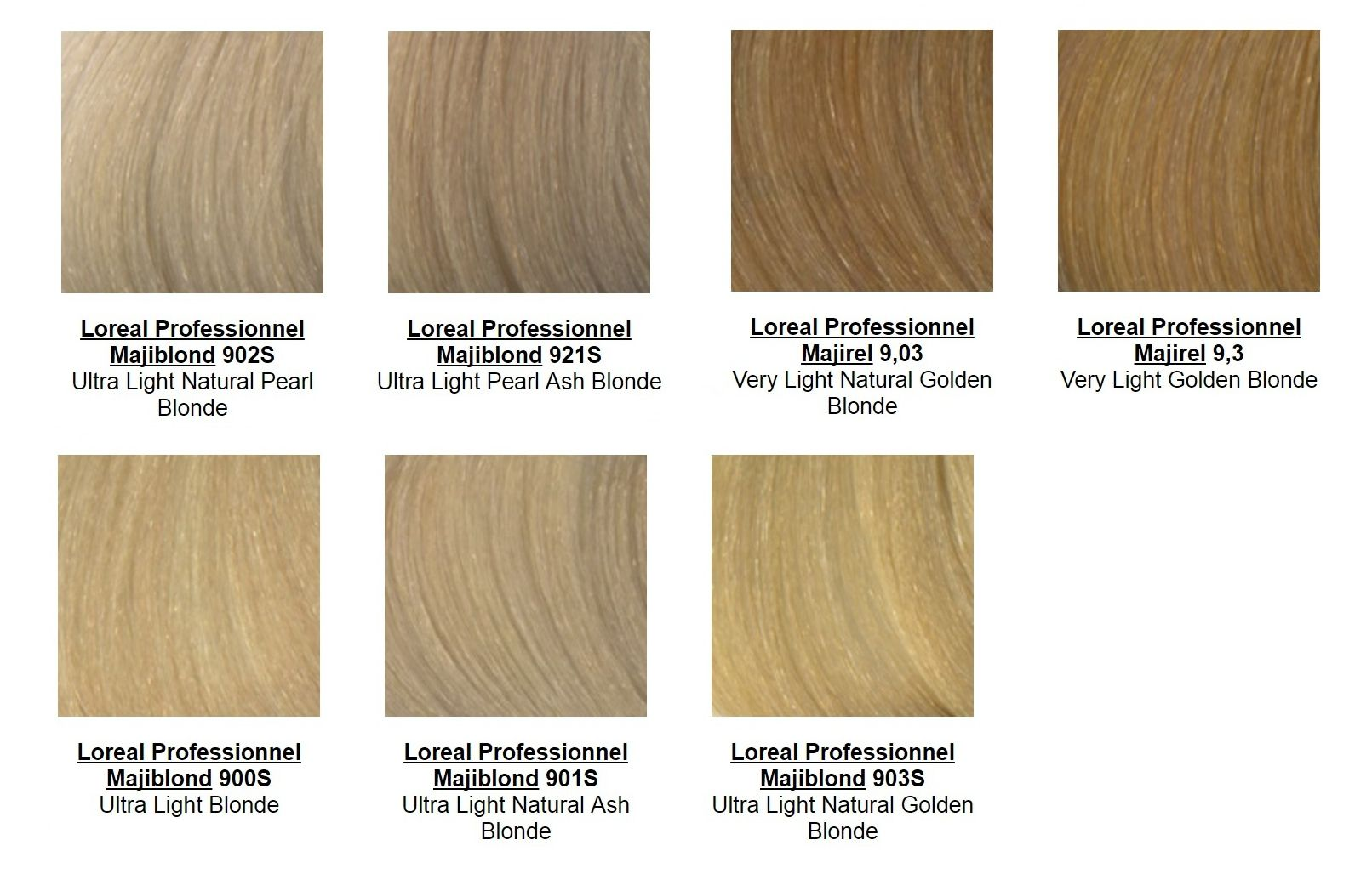 Majirel And Majiblond Best Blonde Hair Colors Loreal Haircolor