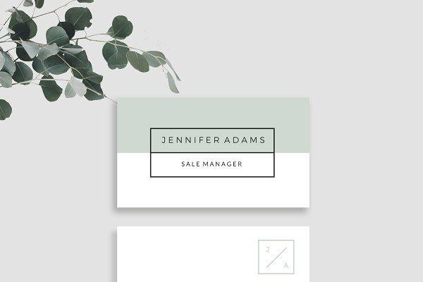 Modern Business Card  - Business Cards