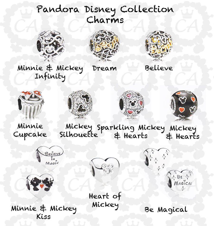 pandora disney charm believe